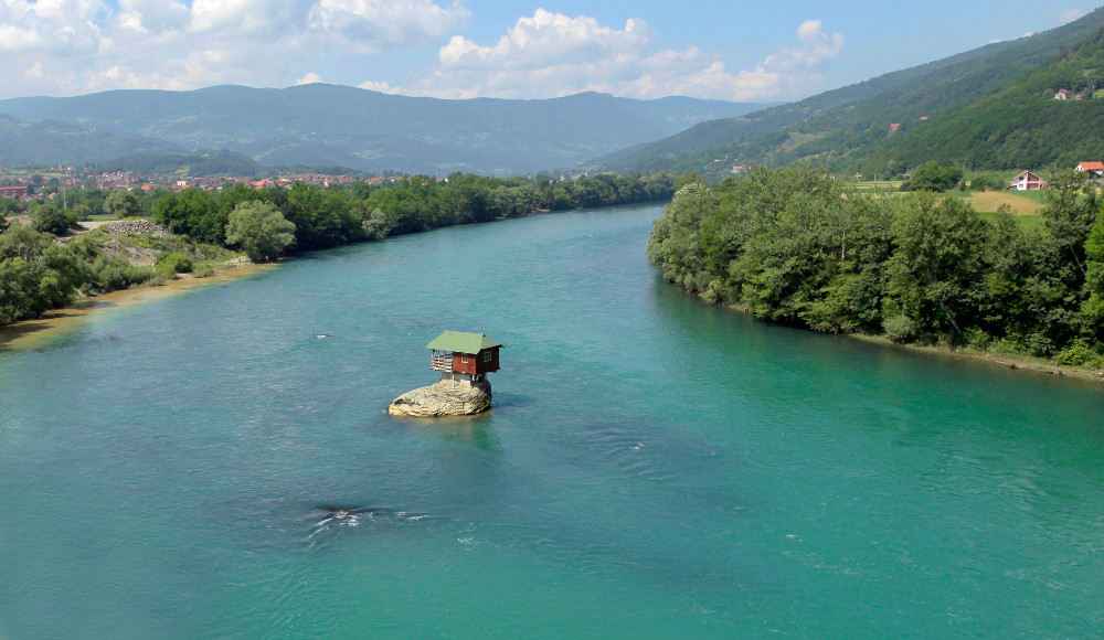 Drina river tour